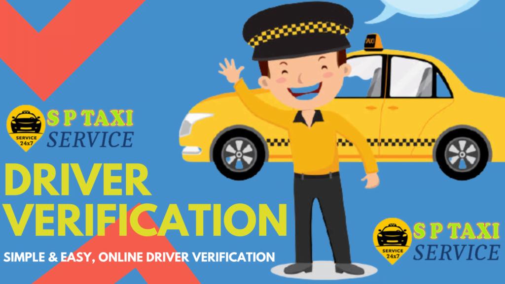 New Driver Verification & Taxi attachment